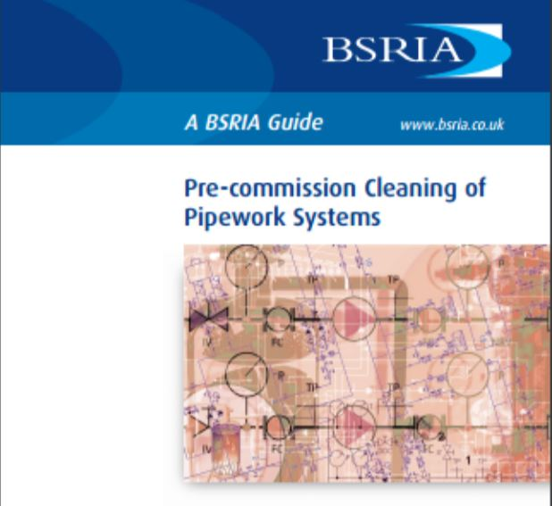 Pre-commission Cleaning BSRIA Guide
