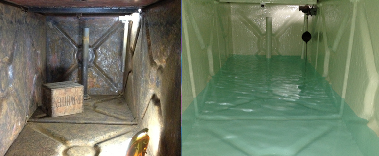 Before & After Tank Reline
