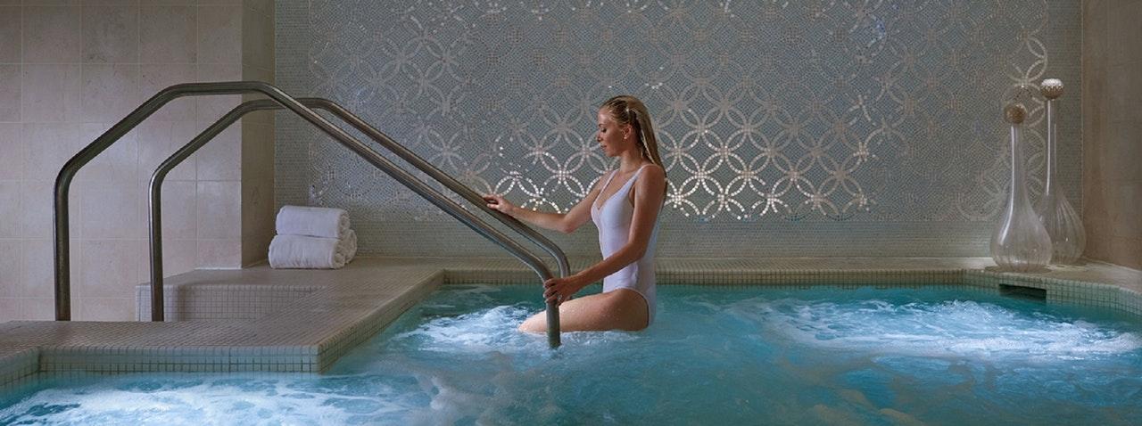 Legionnaires in a spa?