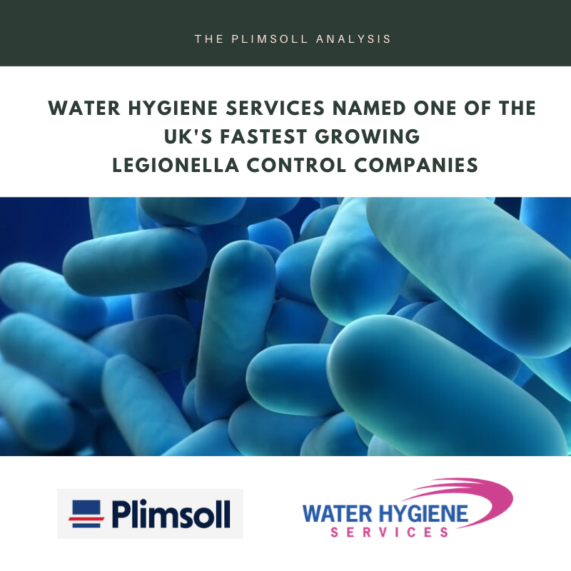 UK's fastest growing Legionella Control companies